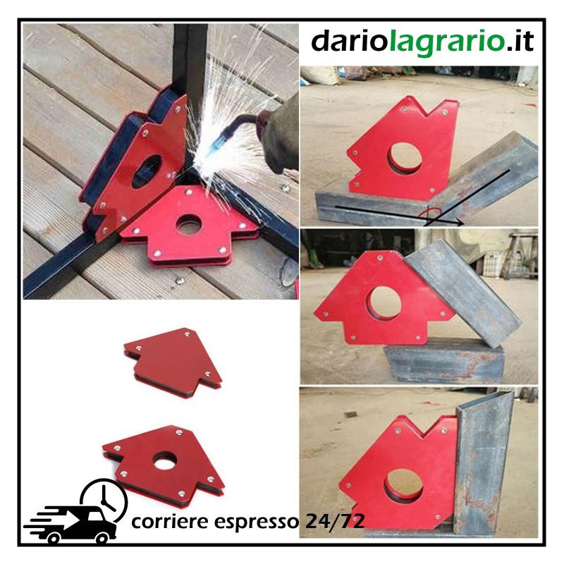 Magnete Magnetico frecce saldatore saldatura Angolazioni 45° 90° 135° 25LB 12Kg